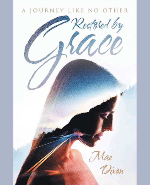 Domestic Violence Book Cover- restored by grace
