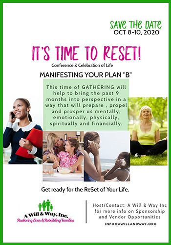 It's time to reset flyer event Oct 8-10, 2020